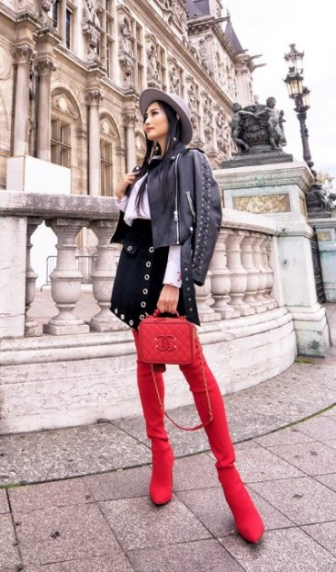 Tina-Lee-Red-Over-The-Knee-Boots